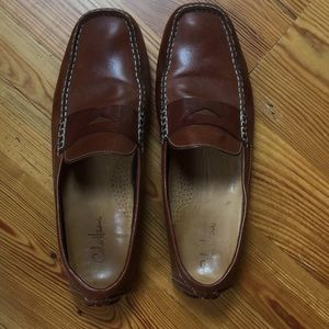 Cole Haan men's saddle-colored men's driving shoes